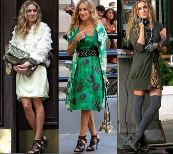 Carrie Bradshaw's outfits