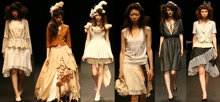 Japan Fashion Week 2008 Spring Summer Collections Haut Fashion