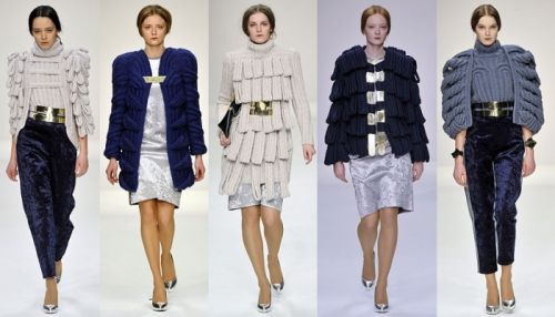 Central Saint Martins - Simone Shailes - fall 2008