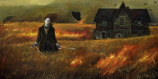 Andrea Kowch, No Turning Back