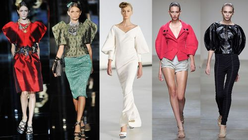 Milan Fashion Week Trend: Bold Shoulders/Sleeves