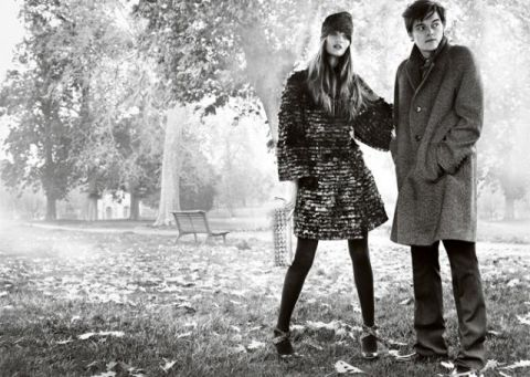 Burberry fall08/winter09 ad campaign - 01
