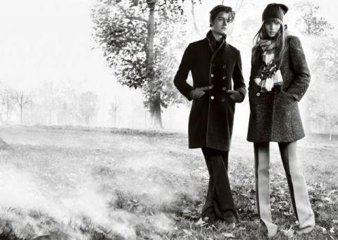 Burberry fall08/winter09 ad campaign - 02