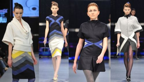 "Claudia Castrase ""Geometrics"" collection"