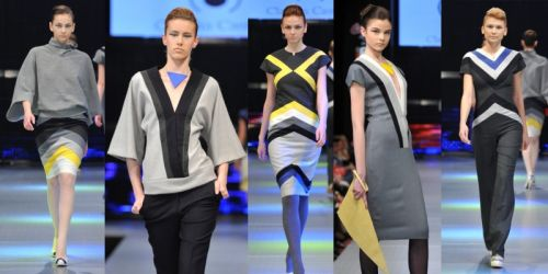 Claudia Castrase at Romanian Fashion Week