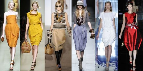 Milan Fashion Week Trend: Cocoon Shapes