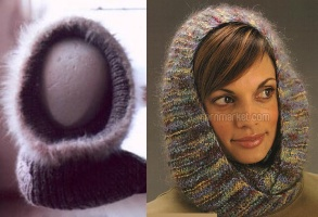 Cowl Scarf Hood Patterns