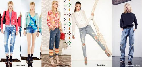 Resort 2014 trends: distressed denim
