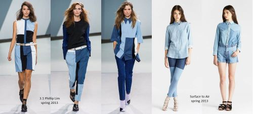 Denim trends 2013: patchwork denim