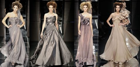 Elie Saab couture fall 2008 collection 02