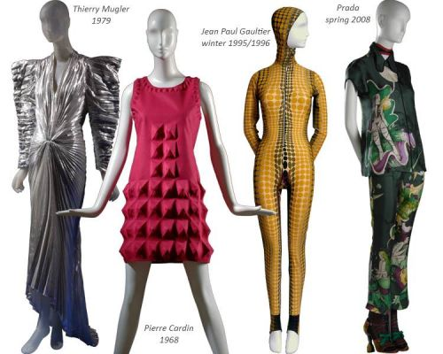 Fashion and Technology  - FIT Museum - 1960 to 2010