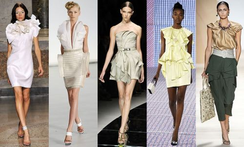 Milan Fashion Week Trend: Folds