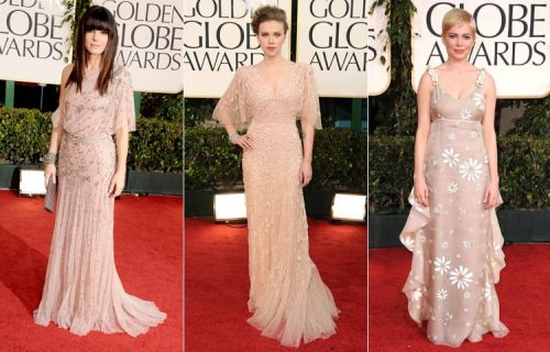 Golden Globes 2011 red carpet: 70s style bohemian