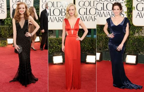 Golden Globes 2011 red carpet: jazz-age glamour