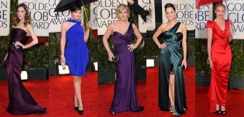 Golden Globes 2010 trend: jewel tones