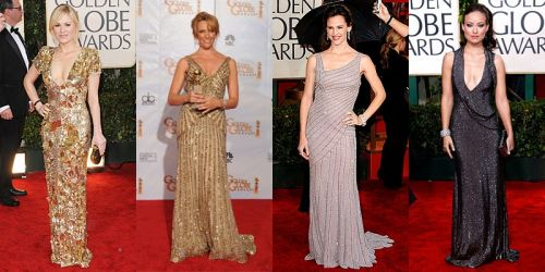 Golden Globes 2010 trend: metallics
