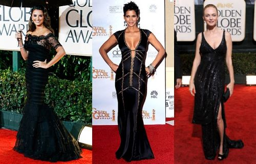Golden Globes 2010 trend: sexy black