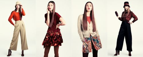 H&M fall 2011 collection lookbook - 1