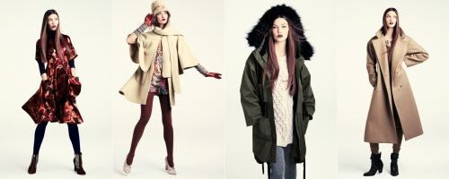 H&M fall 2011 collection lookbook - 2