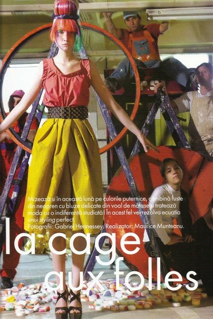 La cage aux folles - Elle Magazine - 01