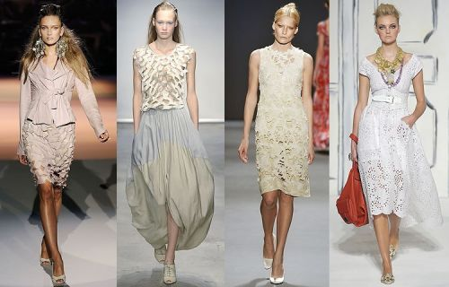 New York trend spring 2009: laser cut