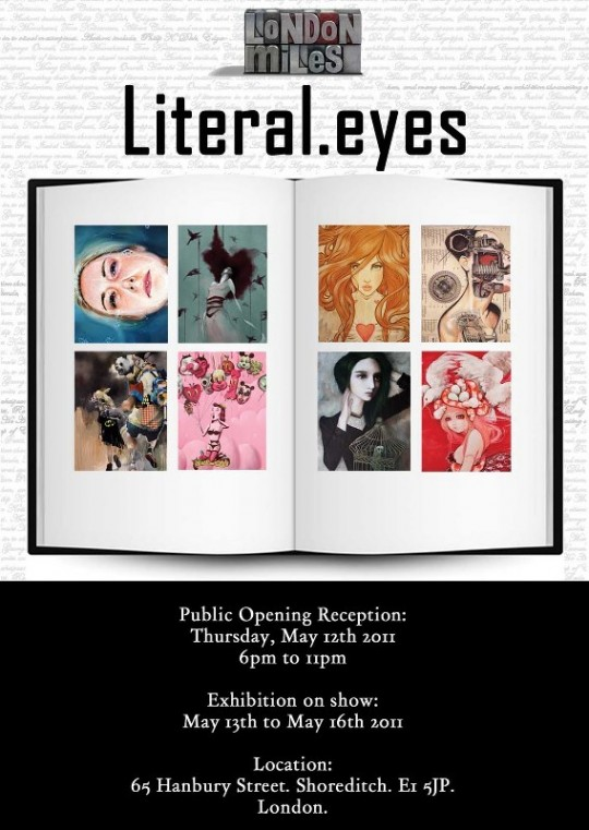 Literal.eyes group show at London Miles