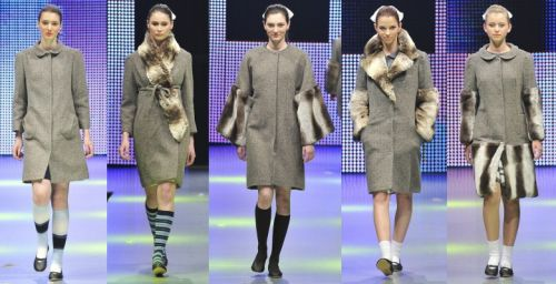 Ludmila Corlateanu at Romanian Fashion Week