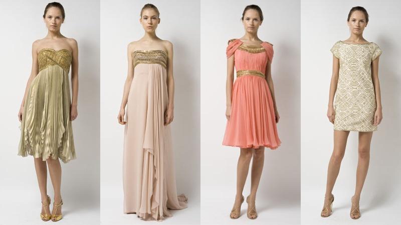 Платье в египетском стиле