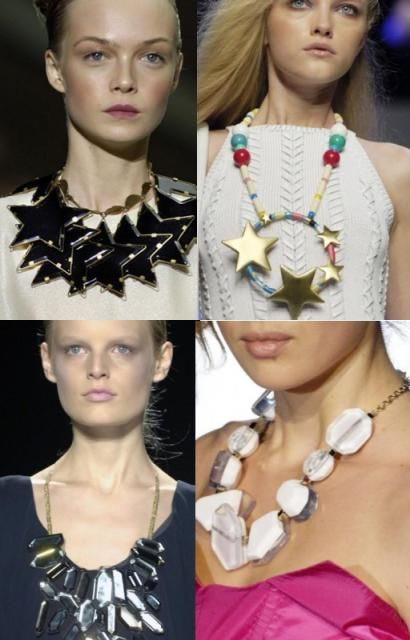 Star necklace trend