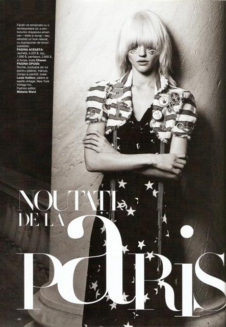 News from Paris - Harper's Bazaar Magazine - 01