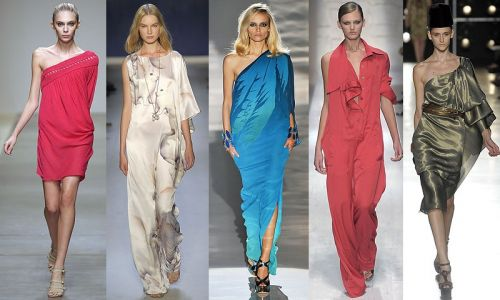 Milan Fashion Week Trend: One Sleeve