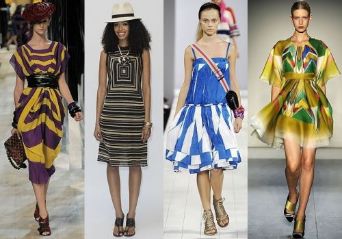 New York trend spring 2009: op-art prints