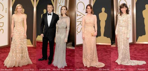 Oscar 2014 red carpet style: embellished gowns