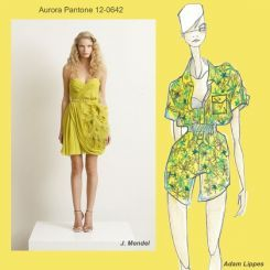 Pantone spring 2010 fashion colour report: Aurora