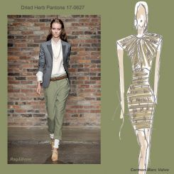 Pantone spring 2010 fashion colour report: Dried Herb