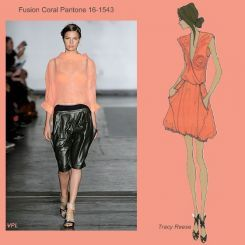 Pantone spring 2010 fashion colour report: Fusion Coral