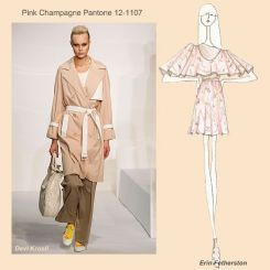 Pantone spring 2010 fashion colour report: Pink Champagne