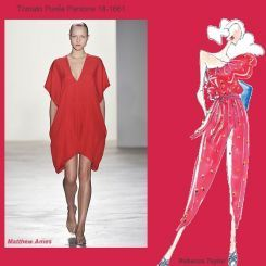 Pantone spring 2010 fashion colour report: Tomato Purée