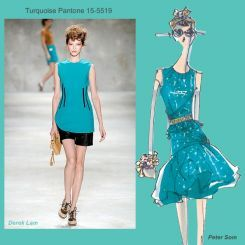 Pantone spring 2010 fashion colour report: Turquoise
