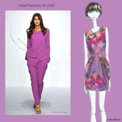 Pantone spring 2010 fashion colour report: Violet
