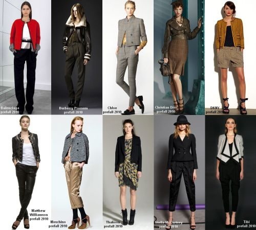 Pre-fall 2010 trend: the cropped jacket