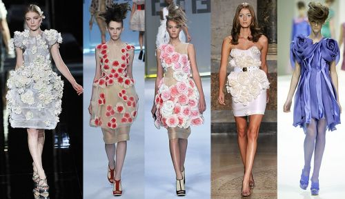 Milan Fashion Week Trend: Rose Garden