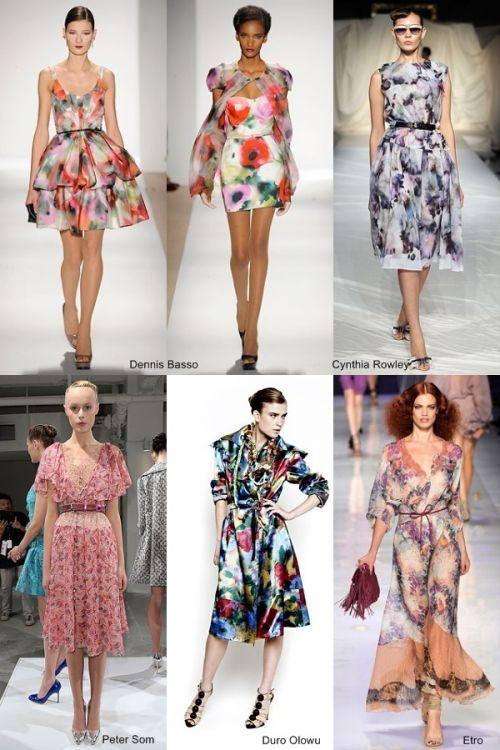 spring 2010 trend: painterly floral