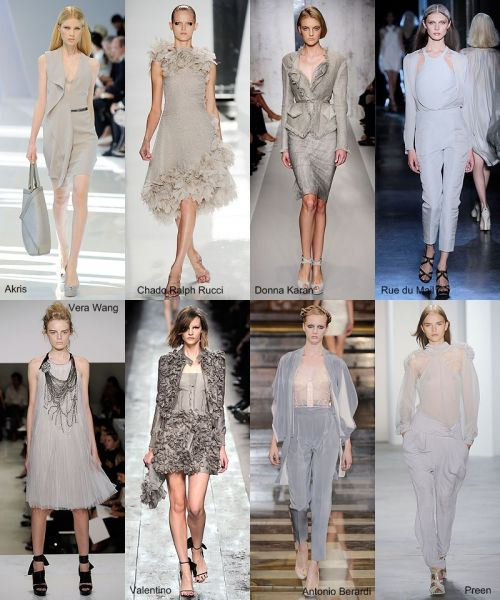 spring 2010 trend: the grey lady