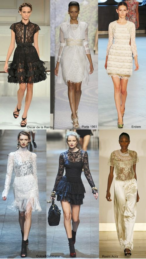 spring 2010 trend: lace