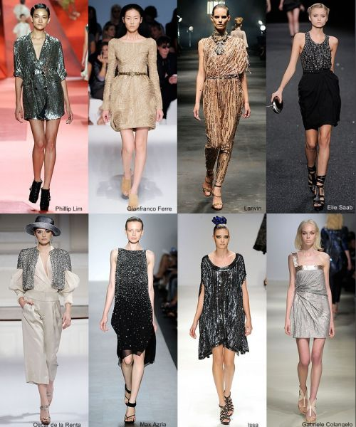 spring 2010 trend: shine on