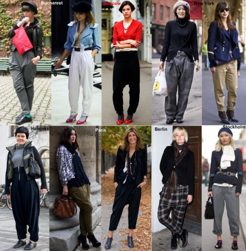 Street style: bold trousers