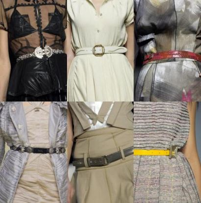 thin belts trend spring 2008
