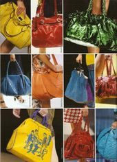 spring 2008 trend eye-catching bags