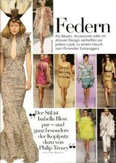 Spring 2008 Trend Feathers
